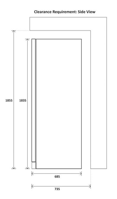 Yeobuild-HomeStore_Kadeka-KS140TL-side-clearance