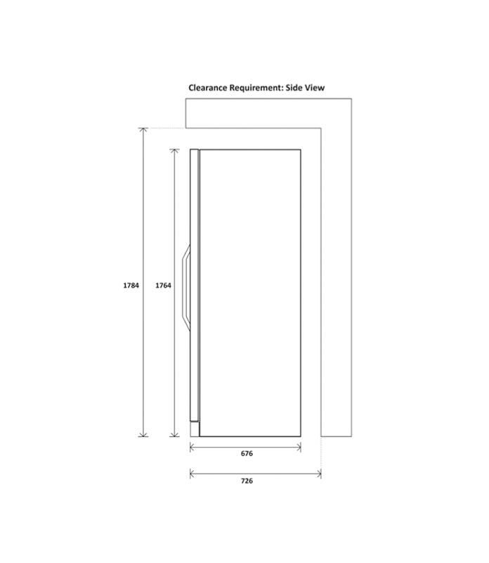 Yeobuild-HomeStore_Kadeka-KSJ168EW-side-clearance