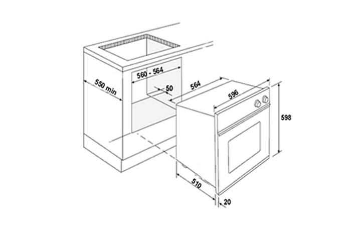 Yeobuild-HomeStore_Turbo-Incanto-Oven-TFE6608SS-dimension