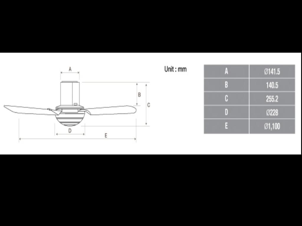 Yeobuild-Homestore_KDK-Ceiling-Fan-M11SU-cutout