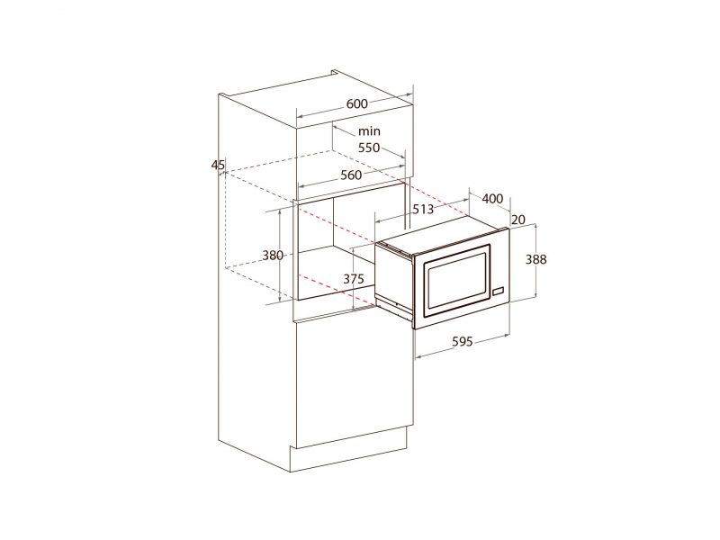 Yeobuild HomeStore Mayer MMWG25B Microwave Oven