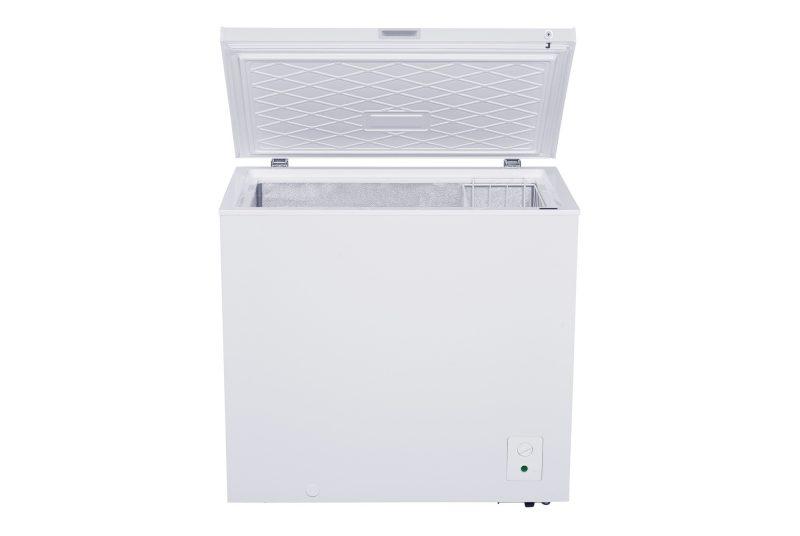 Tecno TCF 228R 210L Chest Freezer open