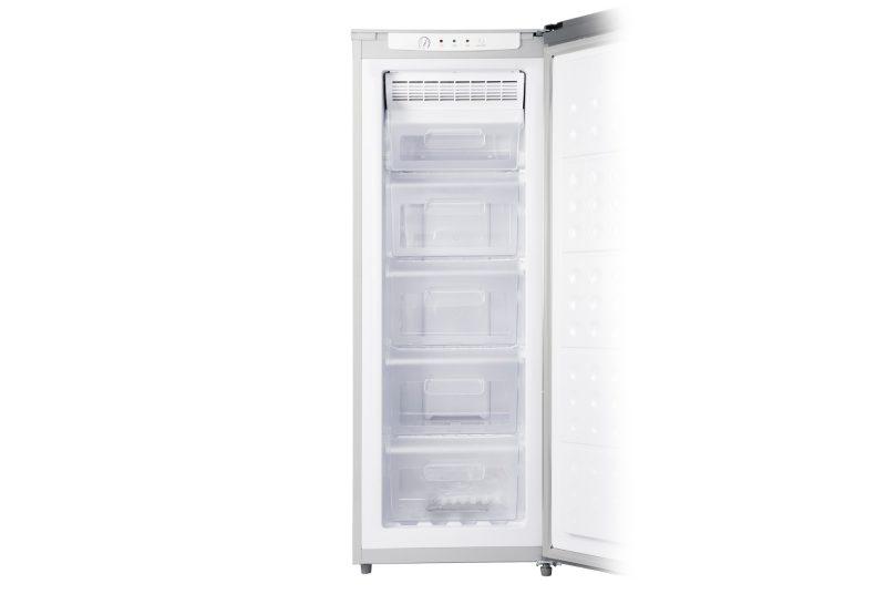 Tecno TFF 238 150L Upright Frost Free Freezer open
